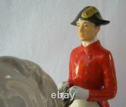 Kaiser Alka Kunst Porcelain Levade Lipizzaner Horse Rider Wien Austria Rare