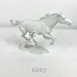 Kaiser Finale Porcelain Bisque White Horse G. Bochmann #388 W. Germany
