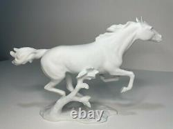 Kaiser Finale Porcelain Bisque White Horse by Artist Bochmann, Model #388