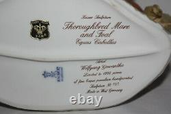 Kaiser West Germany Thoroughbred Mare and Foal Limited Edition 131/1200
