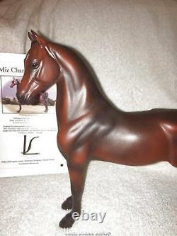 LakeShore Porcelains Bay Saddle Mare Porcelain Horse with Certificate