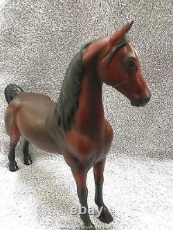 Lakeshore Collectable Porcelain Horses Red Bay Miz Charizma