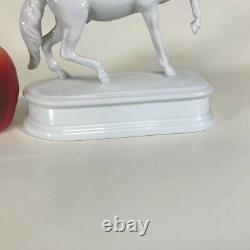 Large Herend Porcelain White Horse