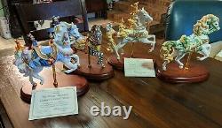 Lenox carousel horse collection