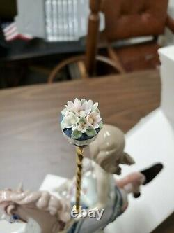 Lladro Girl On The Carousel Horse Retired Rare Porcelain Figure PRISTINE