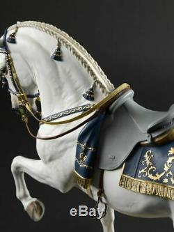 Lladro Spanish Pure Breed Sculpture Horse Limited Edition of 500 High Porcelain