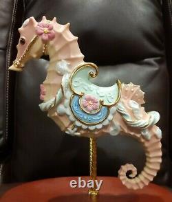 Ocean Fantasy Seahorse Lenox Carousel Horse Ocean Gorgeous Figurine