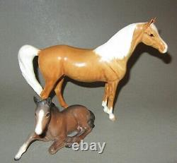 Old. Rare. Beswick, England porcelain horses figurines