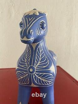 Pablo Zabal Chile Ceramic Porcelain Horse Figurine Pottery Designer Art Decor