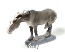 Porcelain figurine Horse. Denmark, Royal Copenhagen #1362