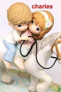Precious Moments IN MY DREAMS, I'M ALWAYS WITH YOU 122015 LE / Couple On Horse