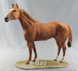 Quarter horse north america porcelainfigurine figurine Kaiser porcelain limited