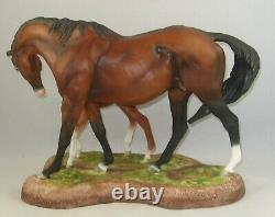 RARE Boehm Porcelain Limited HORSE Sculpture MARE & FOAL 10080 Mint