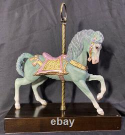 RARE! Cybis Porcelain CAROUSEL HORSE Limited Edition (#434 of 500)