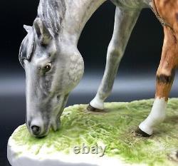 RARE GOEBEL HORSE FIGURINE MARE & FOAL BY G. BOCHMANN W Germany 1974