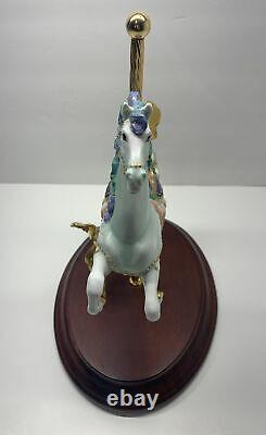 Rare 10 The Franklin Mint Porcelain Sea Prancer Lynn Lupetti Sea Horse Carousel
