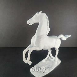 Rare German Kaiser Porcelain Rearing Stallion Comet, White Bisque #481