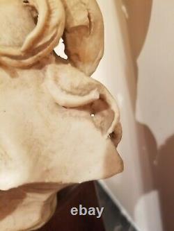 Rare Vintage Giuseppe Armani Figurine Horse Bust Art Decor 15.25 x 9