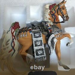 Retired Breyer Porcelain Palomino Parade Horse