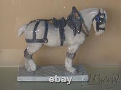Royal Copenhagen PERCHERON Large Draft Horse Figurine-#471