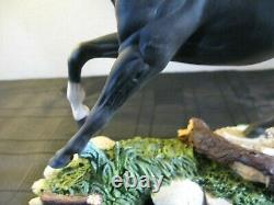 Royal Doulton Black Bess Horse Model Da 179 By Graham Tongue