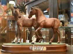 Royal Doulton Spirit Of Love Horses