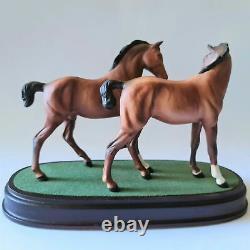 Royal Doulton Spirit of Love DA 225 Horses/Foals Excellent Condition