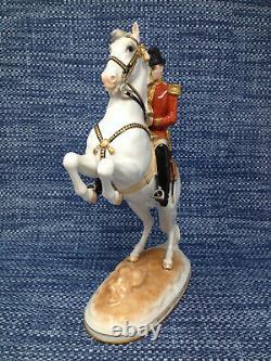 Royal Vienna Augarten Wien Spanish Riding School Horse Hofburg 1926 Figurine