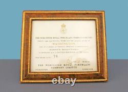 Royal Worcester General George Washington Horse Sculpture Ltd Edition