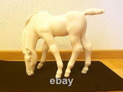 Russian Porcelain Grazing Foal (Horse) original USSR model 1955 (no painting)