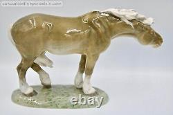 Superb Royal Copenhagen porcelain figurine Windswept Horse Lauritz Jensen