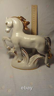 VINTAGE Porcelain! Soviet Figurine The Horse, Lomonosov LFZ