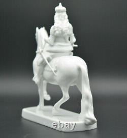 Very finely detailed Rosenthal s Jan Wellem on horse Figurine Porcelain