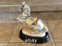 Vienna Augarten Wien Porcelain Spanish Riding School Figurine Horse