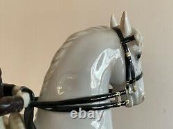 Vienna Augarten Wien Porcelain Spanish Riding School Horse & Rider 1592 Trab