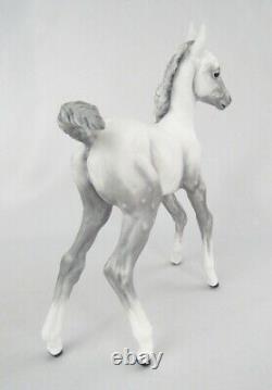 Vintage Boehm Porcelain England Arabian White Foal Colt Horse Figurine