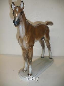 Vintage Early Rosenthal 10 Horse Porcelain Figure Albert Hinrich Hussman