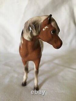 Vintage Hagen Renaker Pinto Paint Horse Shetland Pony Figurine Maydee