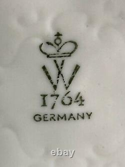 Vintage Schaubach-Kunst German Porcelain Figurine Of Nude On White Horse, Mint