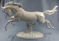 X-large horse porcelain Rosenthal fritz figurine porcelainfigurine 1957