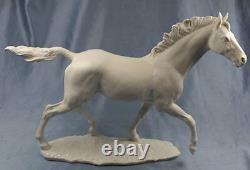 X-large horse porcelain hutschenreuther figurine porcelainfigurine werner 1960